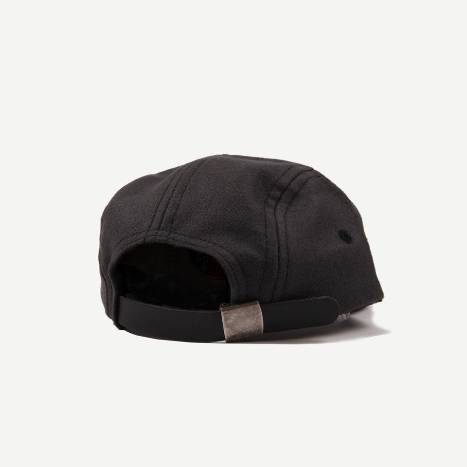 Ebbets Field Flannels Ebbets Wool 5-Panel Cap - Charcoal