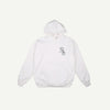 richardson RICHARDSON PENNED OUT HOODIE - WHITE