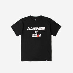 FPAR ALL YOU NEED IS CHAOS TEE - BLACK