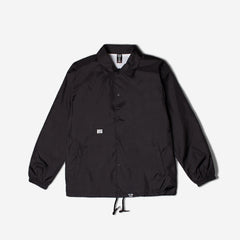 FPAR CLUB WINDBREAKER COACH JACKET - BLACK