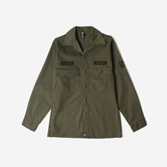 FPAR MR. LONELY UTILITY SHIRT - OLIVE DRAB