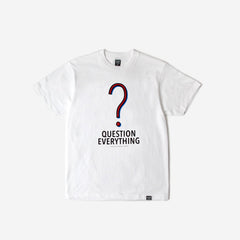 FPAR QUESTION TEE - WHITE