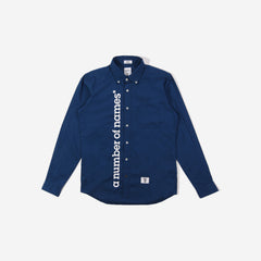 anon* x Bedwin & The Heartbreakers long sleeve shirt - navy