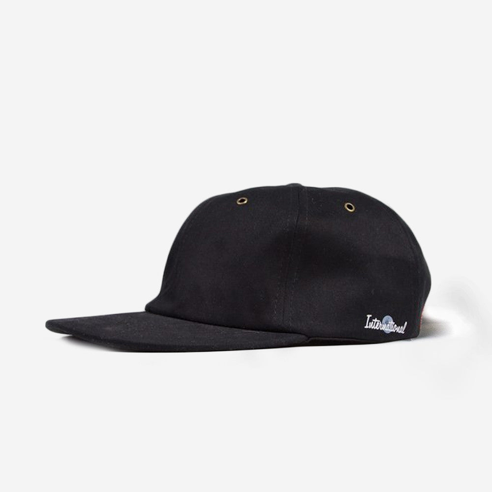 grind london International 6-Panel Cap - Black