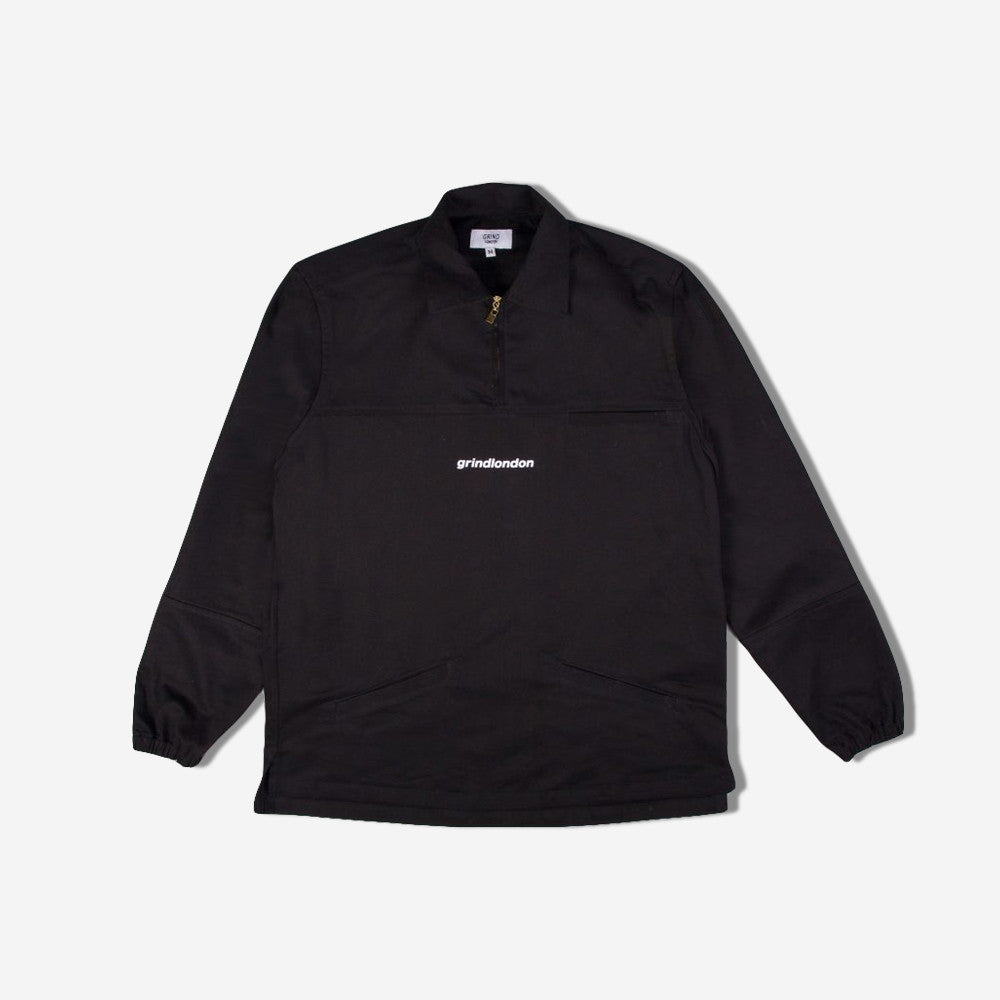 grind london Cotton Pullover - Black