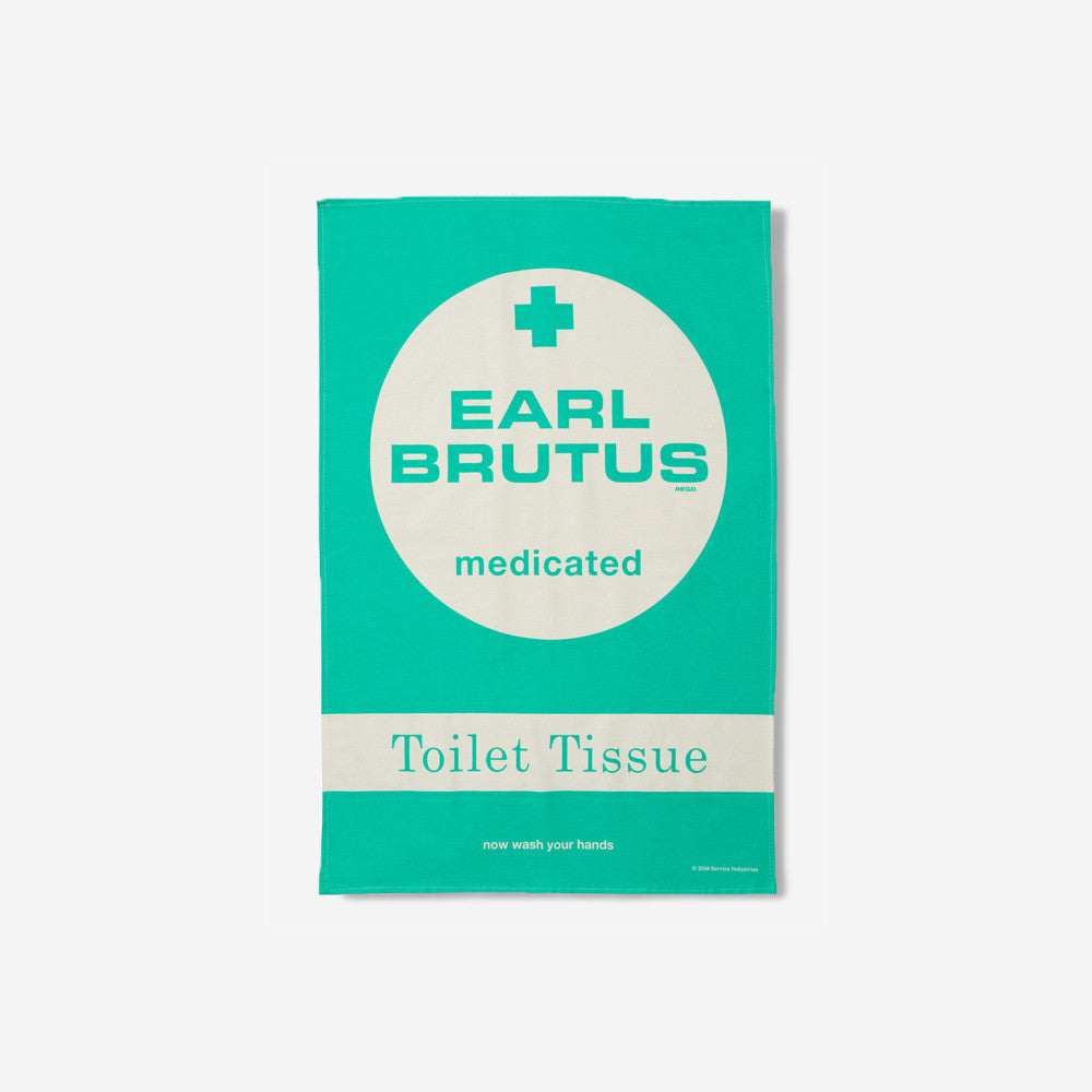 service industries service industries - earl brutus tea towel