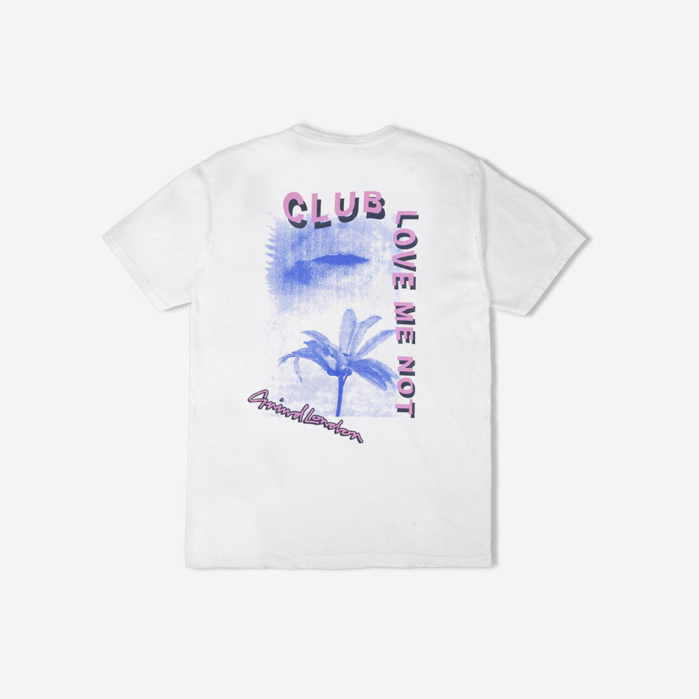 grind london Club Love Me Not T-Shirt - White