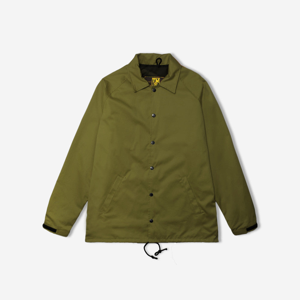 tm® sporting goods tm® coach jacket - olive