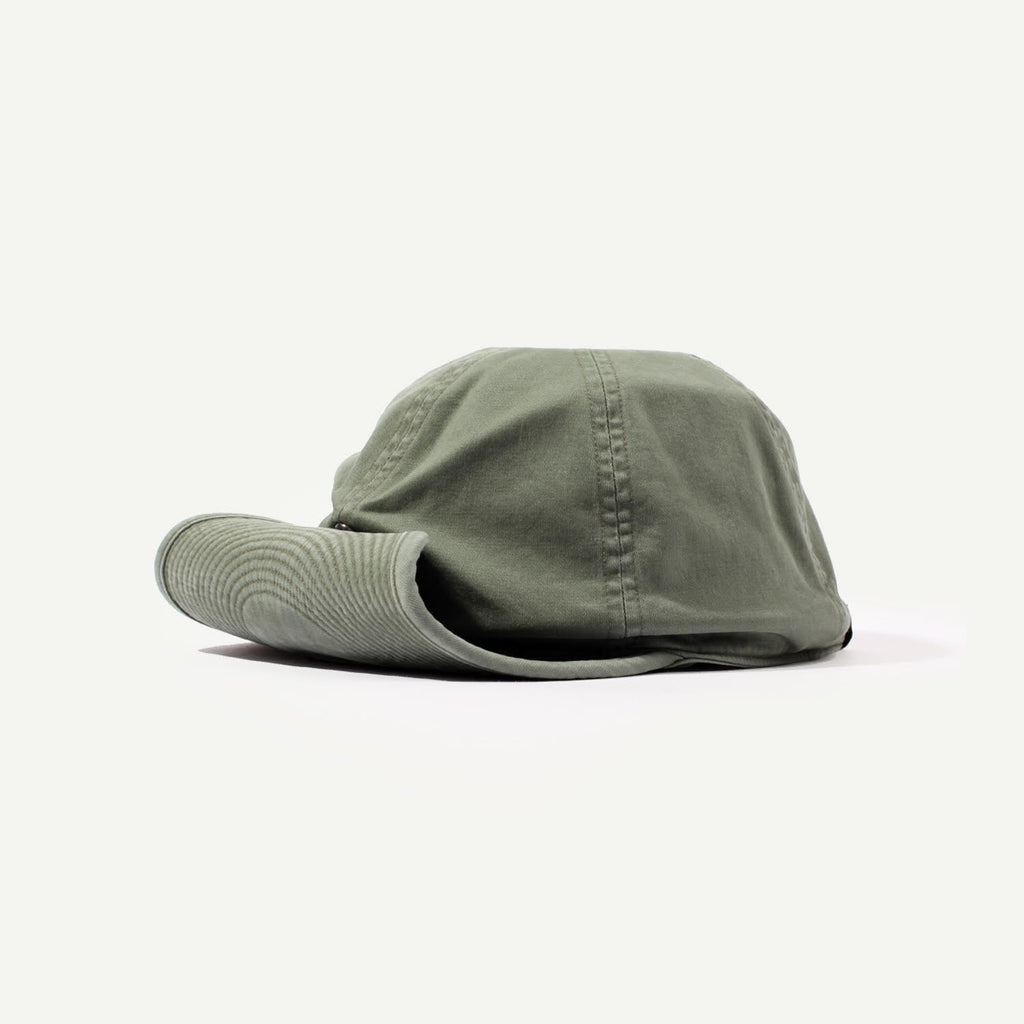 "Bedwin & The Heartbreakers Shallow Baseball Cap ""Davey"" - Olive"