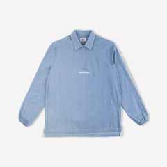 Lightweight Japanese Denim Shirt - Denim