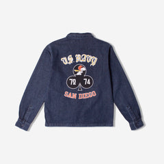 TSPTR - SNOOPY SAN DIEGO DENIM JACKET - DENIM