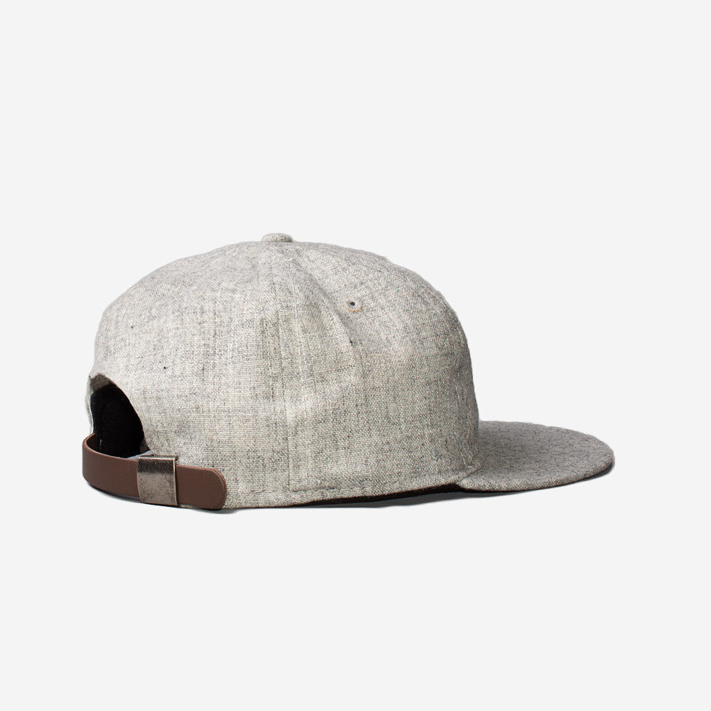 Tsptr EBBETS FIELD FLANNELS X TSPTR - CHARLIE BROWN CAP - GREY MARL