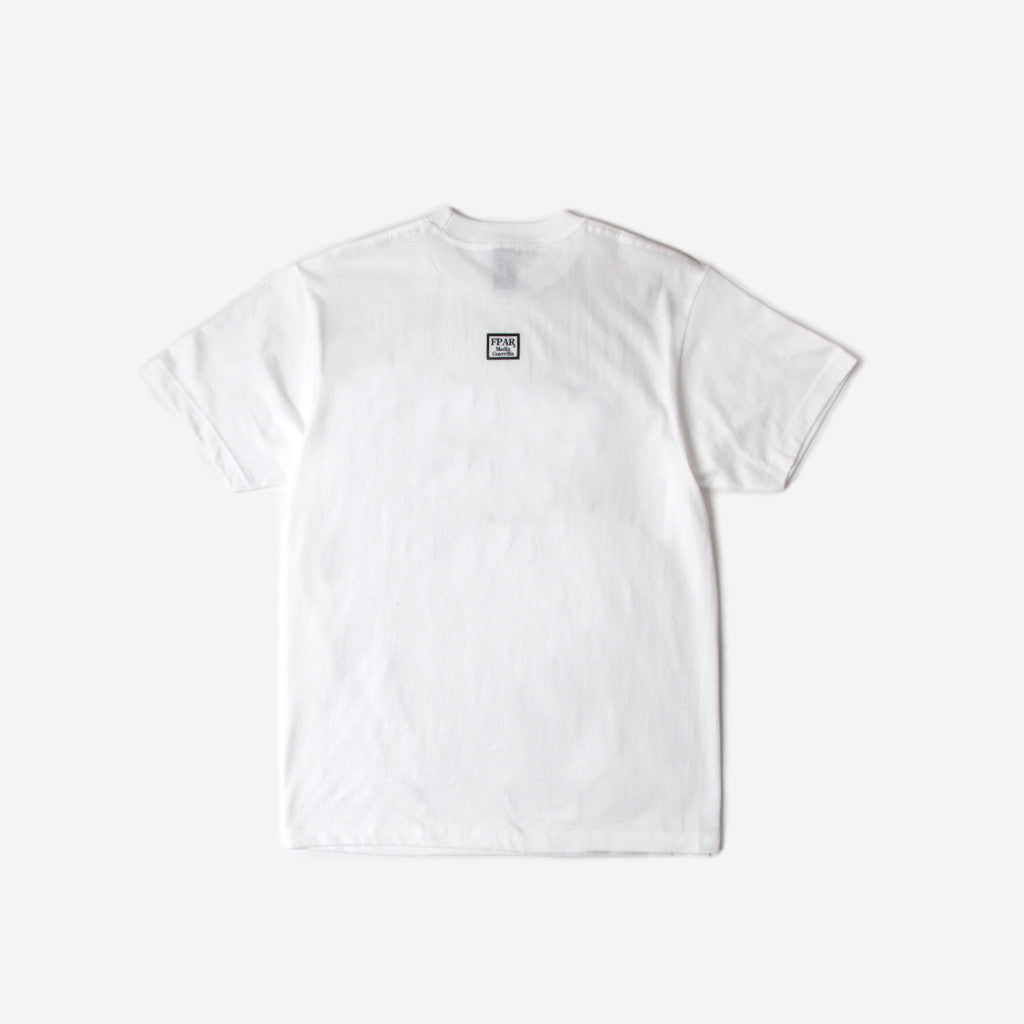 Fpar FPAR TRASH CAN TEE - WHITE