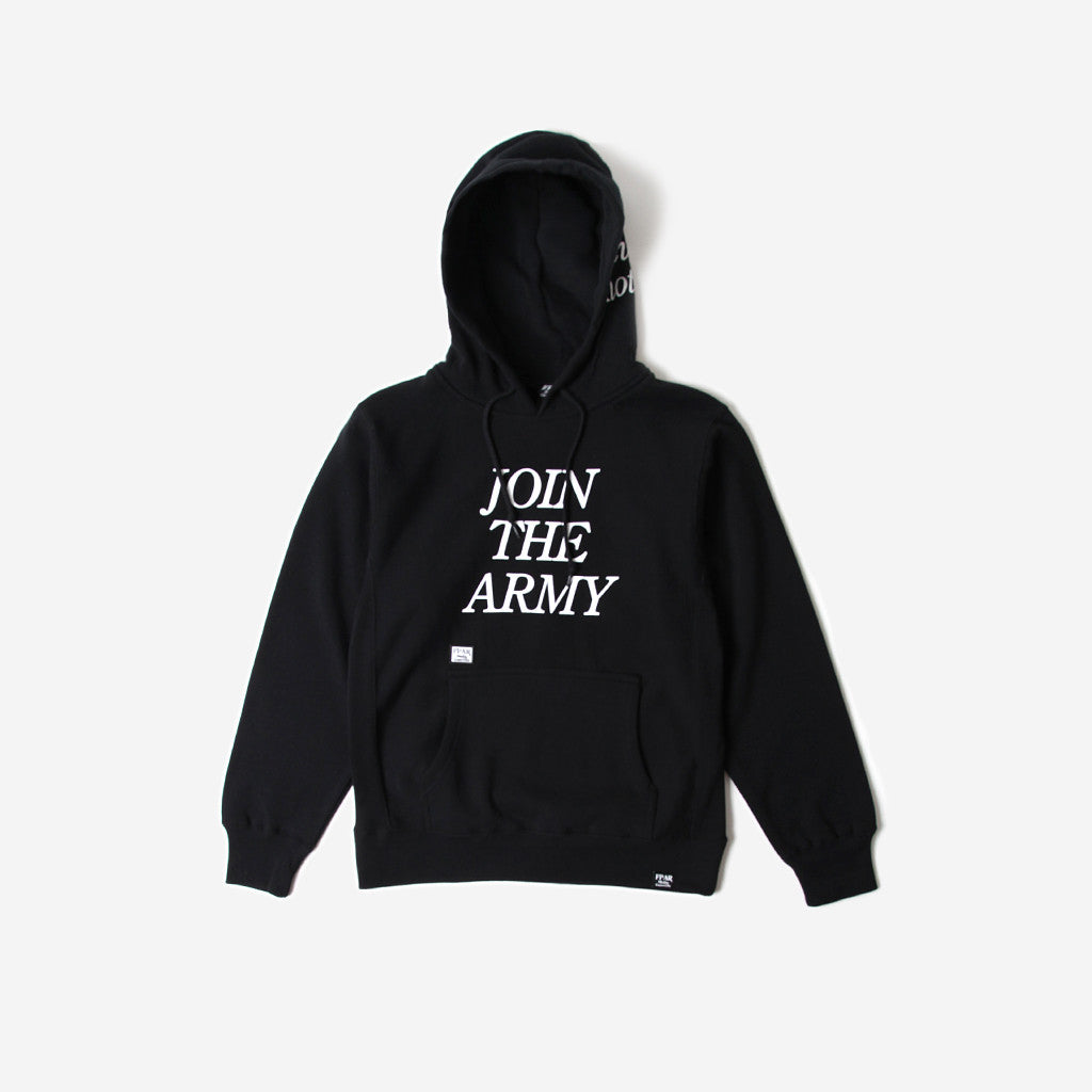 Fpar FPAR JOIN HOODED SWEAT - BLACK