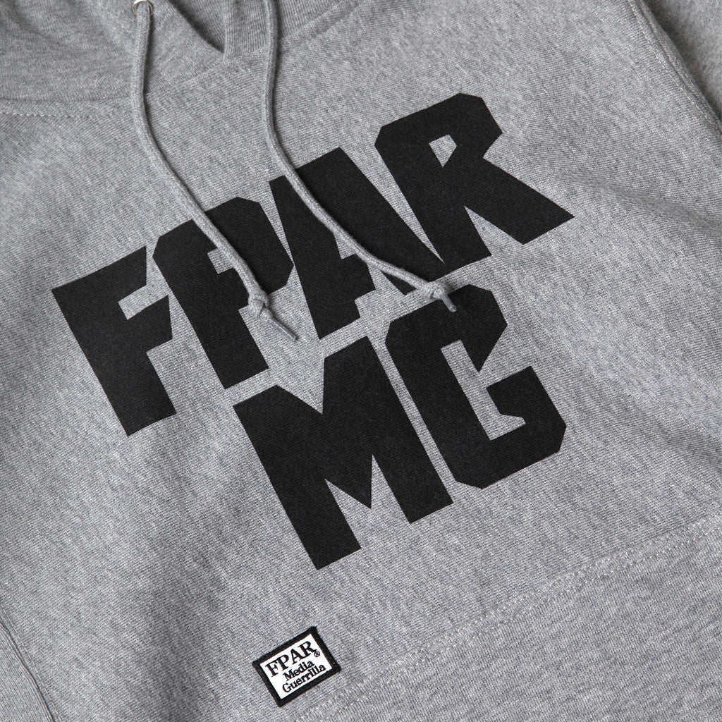 Fpar FPAR METAL HOODED SWEAT - GREY