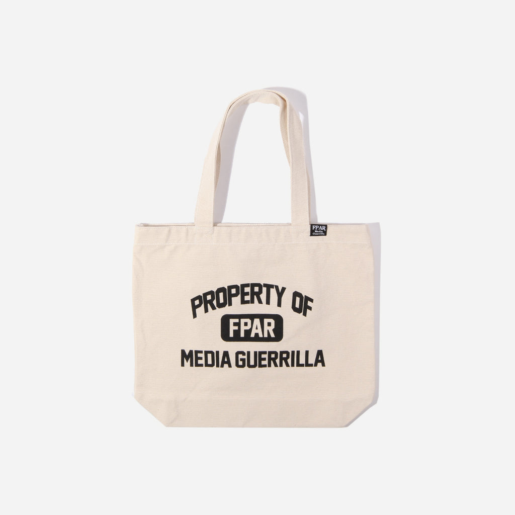 Sale Fpar Property Tote bag - off white