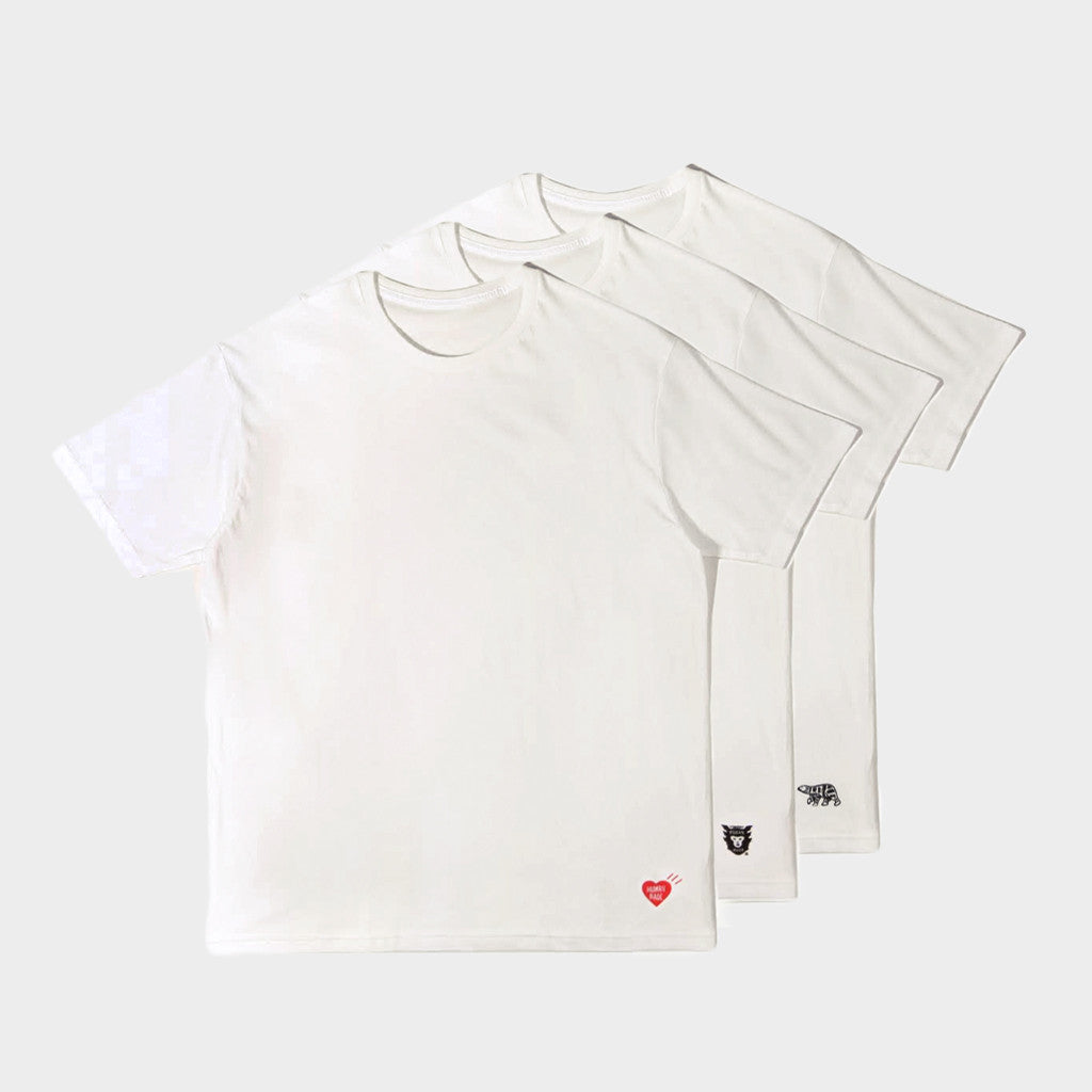 Human Made Human Made t-shirt 3 pack - white