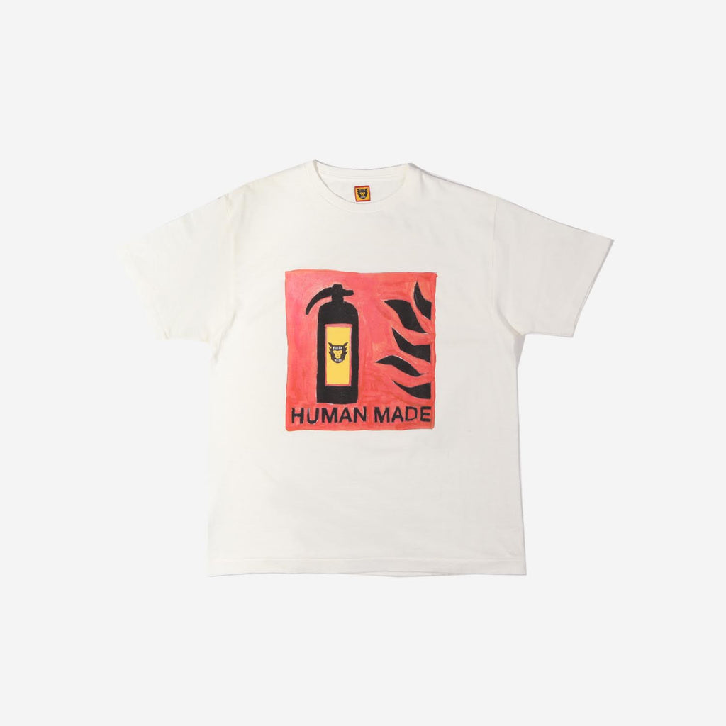 Human Made Human Made fire extinguisher t-shirt - white