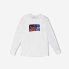 Love Me Hot Long Sleeve T-Shirt - White