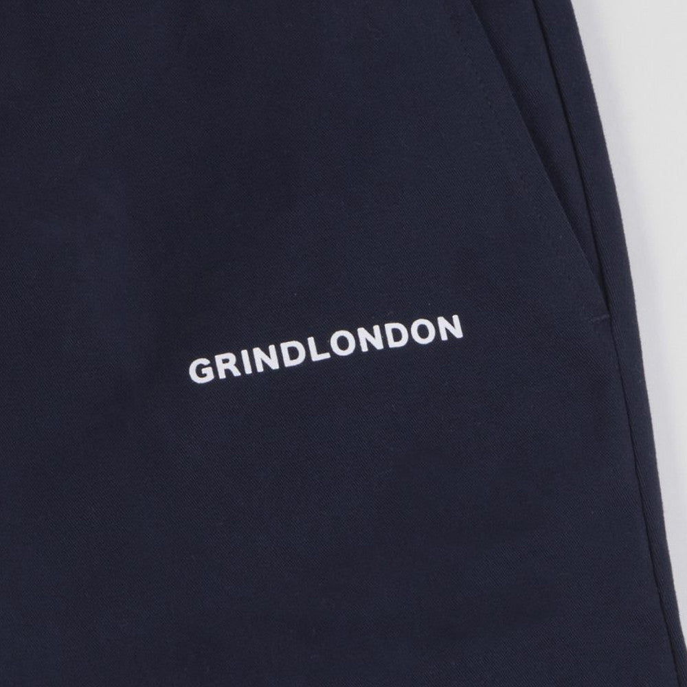 grind london Brushed Cotton Chino - Navy