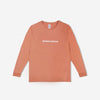grind london Grind London Long Sleeve T-Shirt - Peach