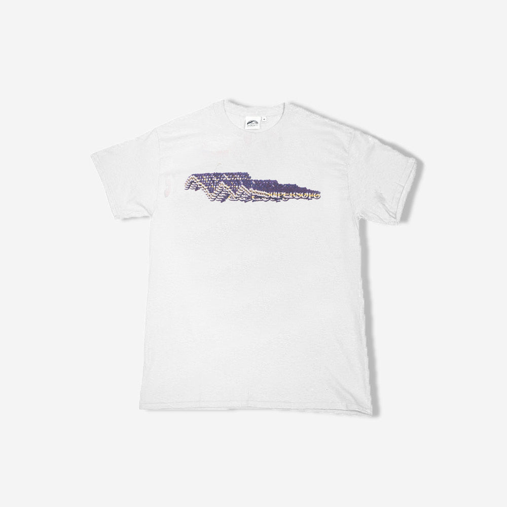 St Moritz Supersoft Theory 2 SS tee - white