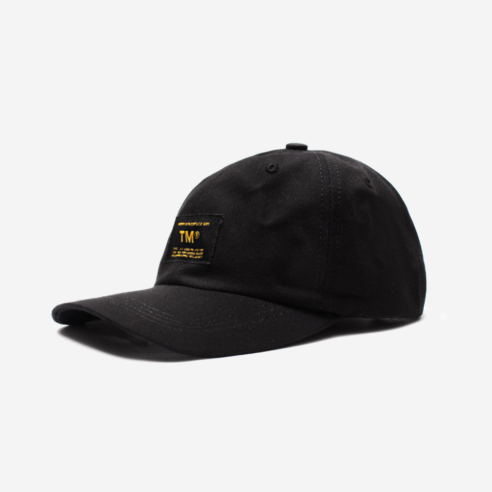 tm® sporting goods tm® militia polo cap - black