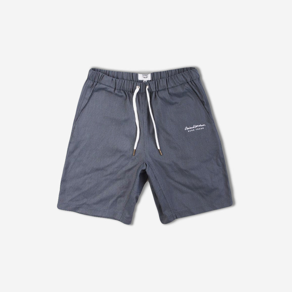 grind london Two Tone Shorts - Blues