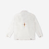 grind london Japanese Denim Harrington Jacket - White