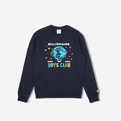 BILLION DOLLAR FAIR CREWNECK - NAVY
