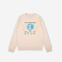 BILLION DOLLAR FAIR CREWNECK - OXFORD TAN