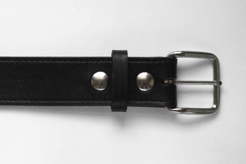 "1.5"" Full grain Leather top/full grain leather lined-SB8--Sport Belt"