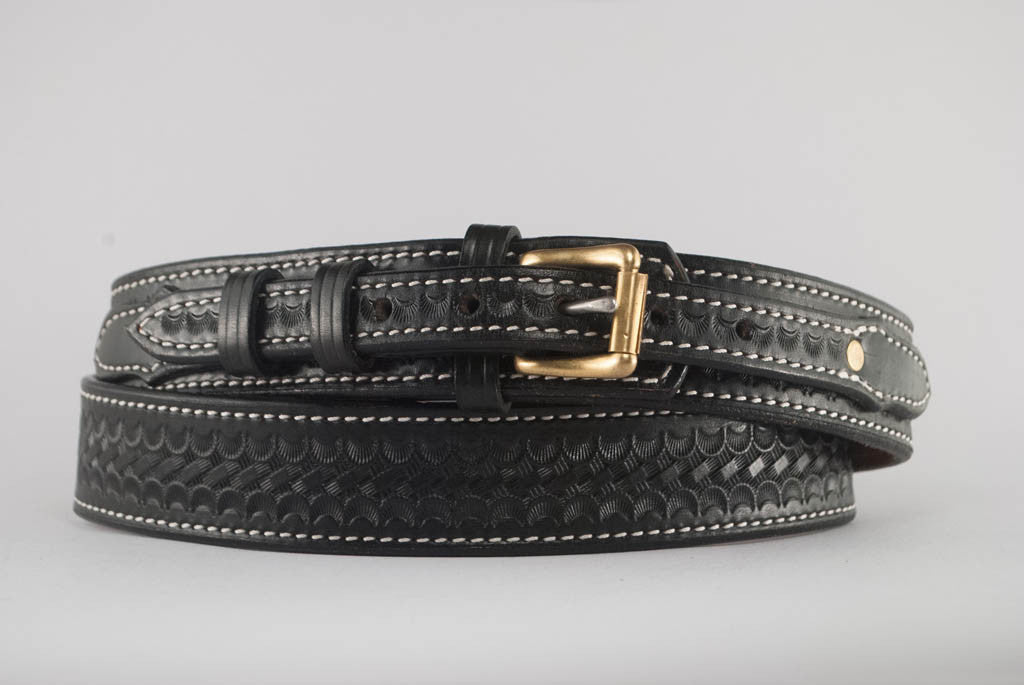 "1.5"" Leather Ranger Belt"