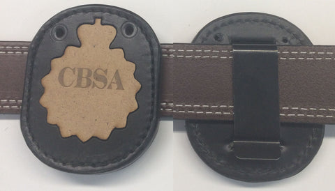 BADGE CARRIER #3-CBSA-With Engravable Insert