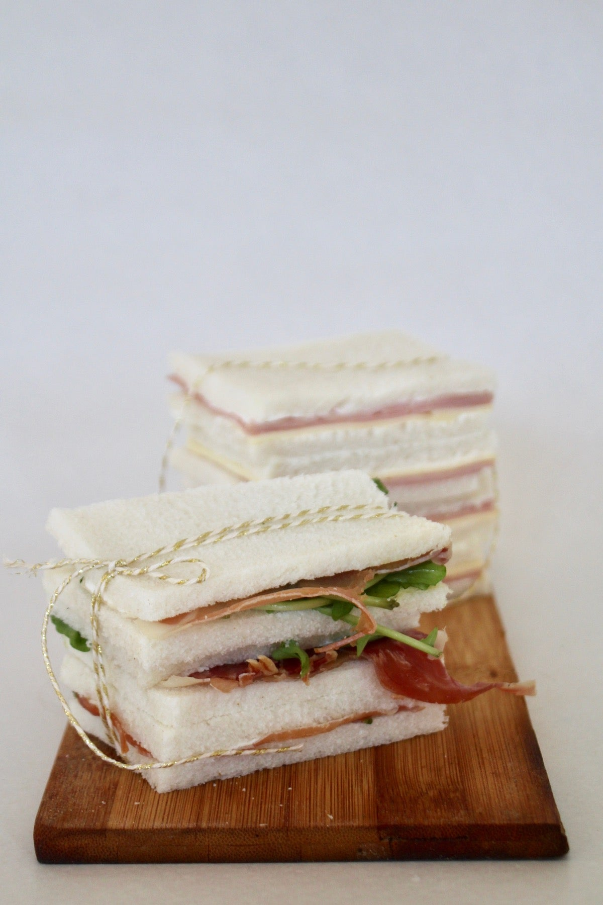 Sandwichitos de pan de miga