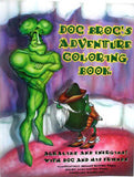 Doc Broc Adventure Coloring Book