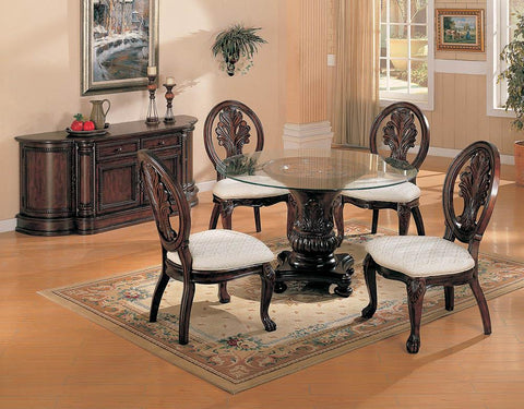 Tabitha Traditional Dark Cherry Dining Table