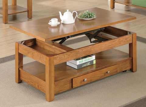 Casual Amber Coffee Table