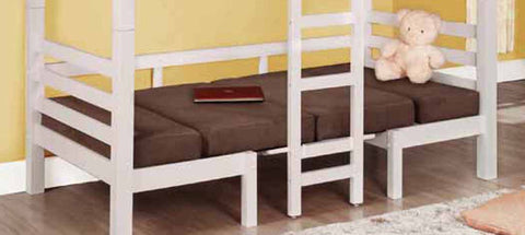 Casual Chocolate Loft Bunk Bed