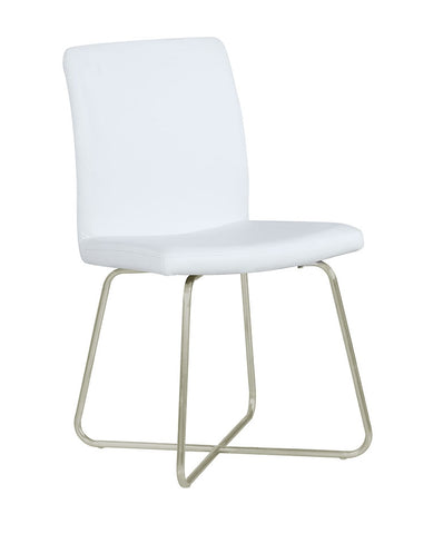 Michonne Contemporary White Dining Chair