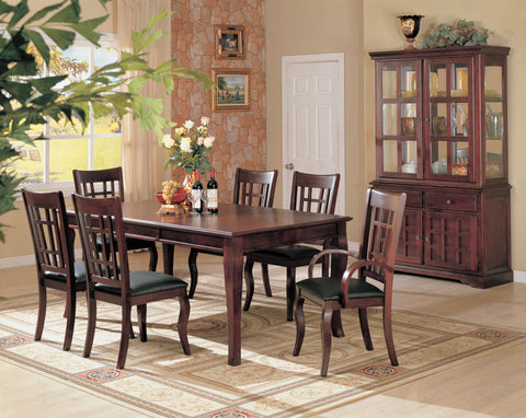 Newhouse Transitional Cherry Five-Piece Dining Set