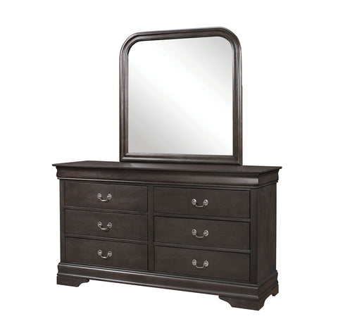 Hershel Louis Phillipe Dark Grey Dresser