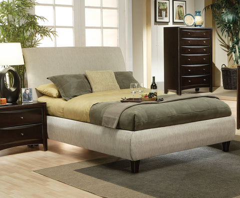 Phoenix Queen Contemporary Upholstered Bed