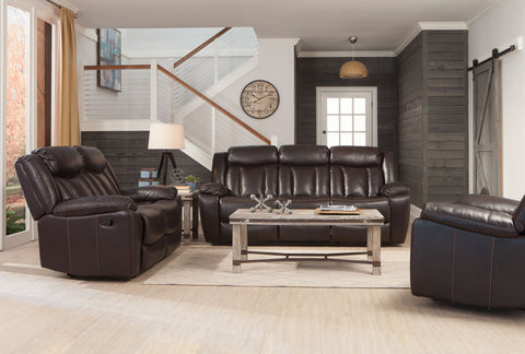 Bevington Brown Motion Two-Piece Living Room Set