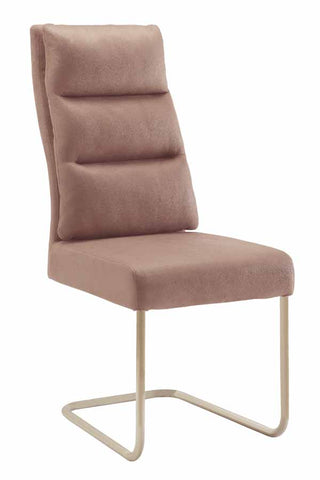 Nessa Contemporary Khaki Upholstered Dining Side Chair