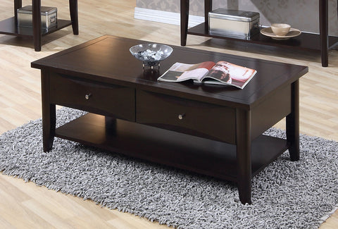 Casual Cappuccino Coffee Table