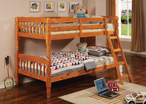 Pulaski Twin Bunk Bed With Ladder