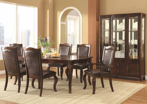 Louanna Transitional Cherry Dining Table