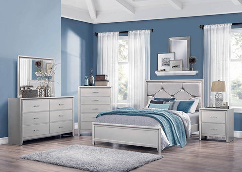 Lana Traditional Silver Full Bed