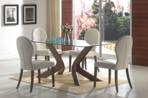 San Vicente Contemporary Cream Dining Chair